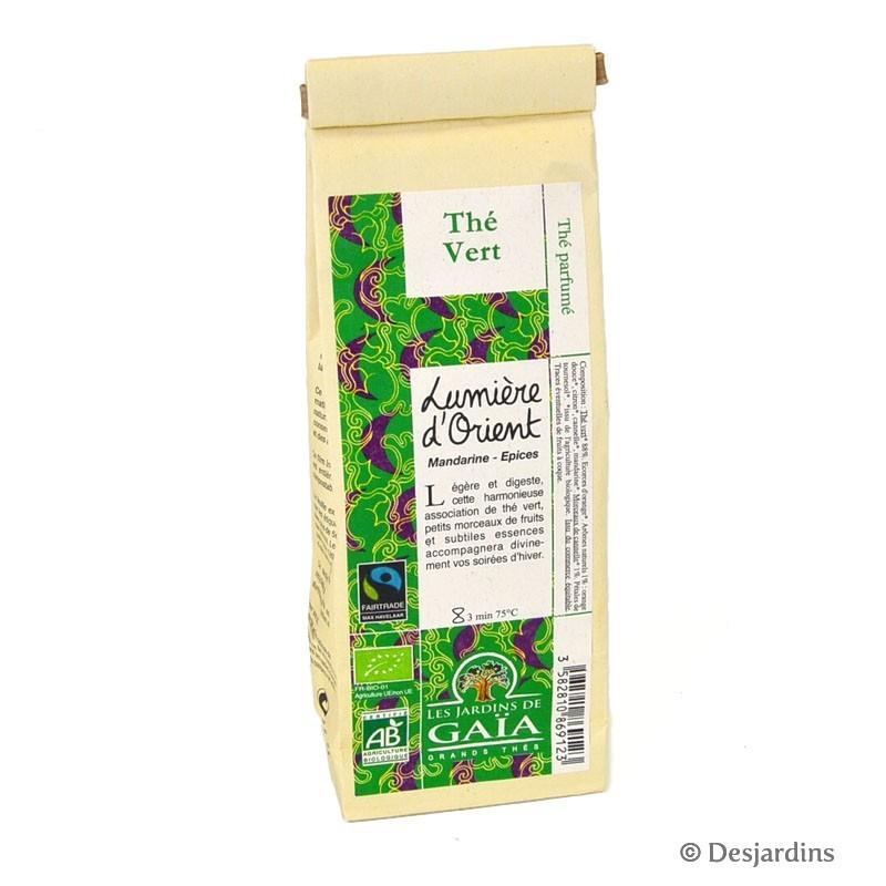 Thé bio vert - Lumière d'Orient - 100g