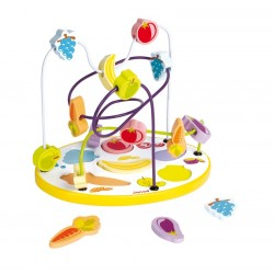 Lopping puzzle de fruits et légumes en bois