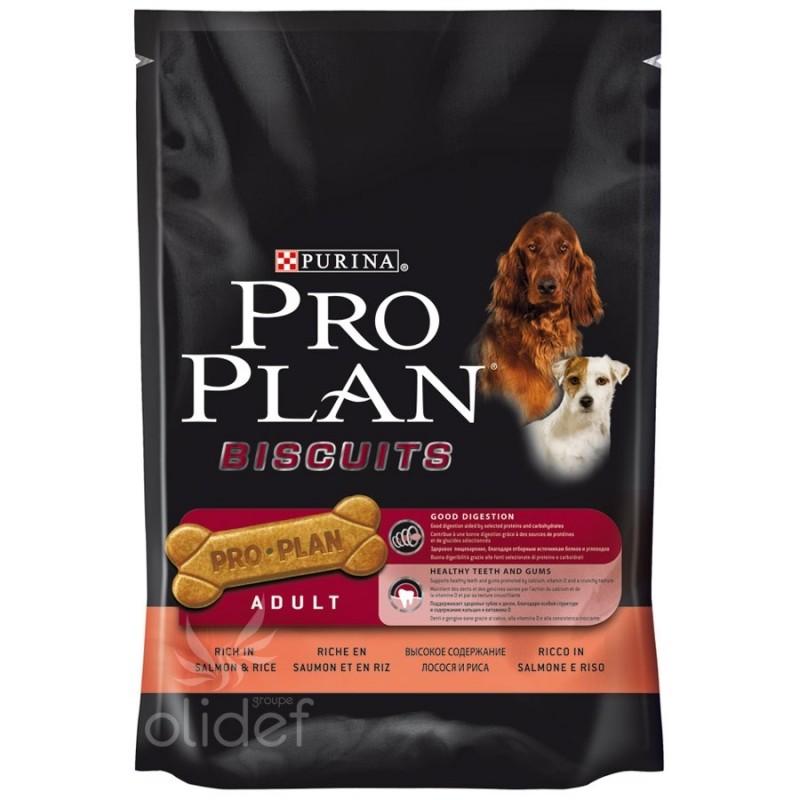 Biscuits Pro Plan Adult - saumon et riz - 400g