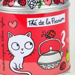 """Boîte à Thé vrac """"T'es in Love"""" - DLP - rose"""