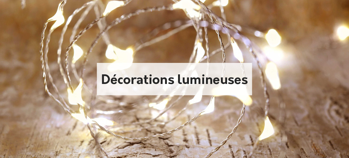 Décorations lumineuses
