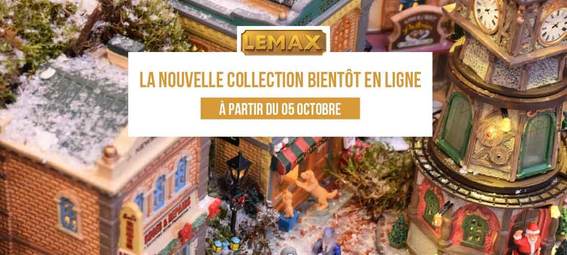 Nouveautés Lemax 2018